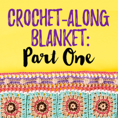 Crochet-Along Blanket: Part One