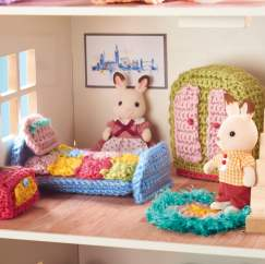 Doll's House Furniture Crochet-Along: Part 2