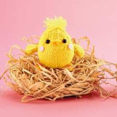 Crochet & Knit Easter Chicks