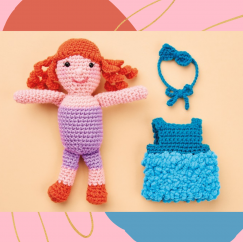 Dress-Up Doll Crochet-Along: Part One