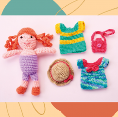 Dress-Up Doll Crochet-Along: Part Two