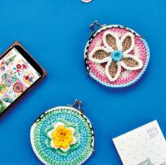 Flower Coin Purses