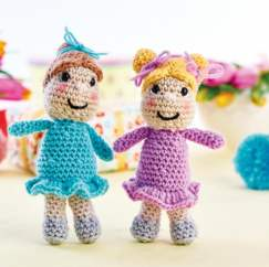 Frilly Dress Dolls