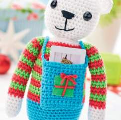 Gift card teddy