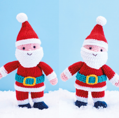 Knit & Crochet Father Christmas