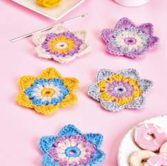 Floral Coasters