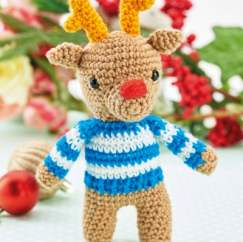 Christmas Crochet-Along Part 3: Robbie the Reindeer