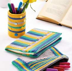 Stationery Cosies