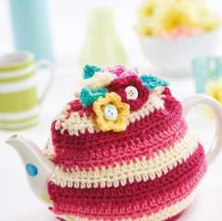 Stripy Tea Cosy