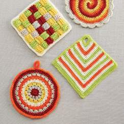 Useful crochet potholders