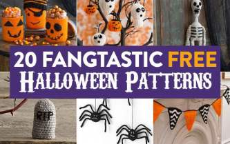 20 Fangtastic Free Halloween Patterns