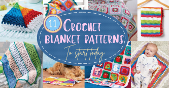 11 Crochet Blanket Patterns To Start Today