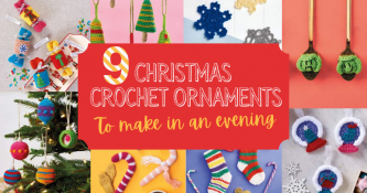 9 Crochet Christmas Ornaments To Make In An Evening