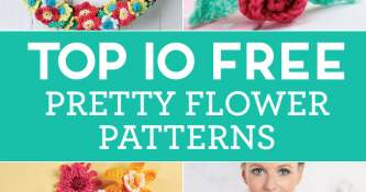 Top 10 FREE Pretty Flower Patterns