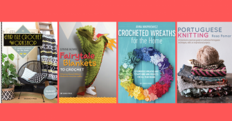 Win knit and crochet books