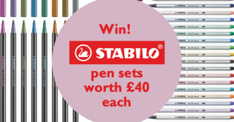 Win STABILO pen sets
