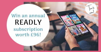 Win an annual subscription to Readly