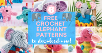 6 Free Crochet Elephant Patterns