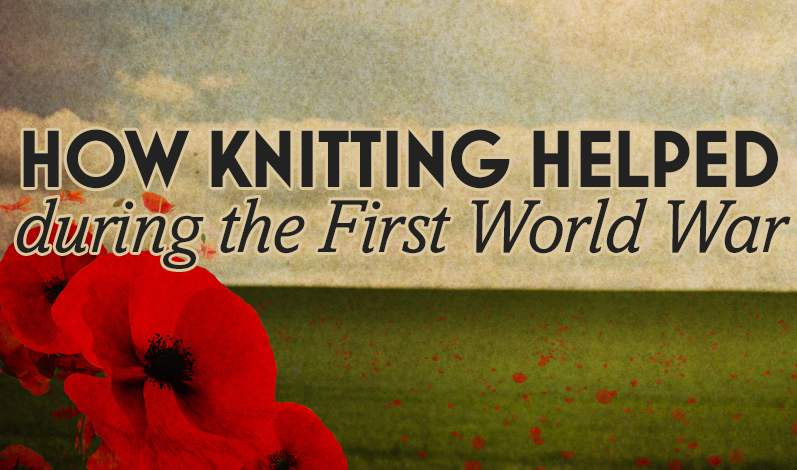 How Knitting Helped During The First World War