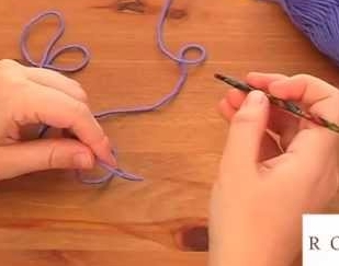 How to Crochet: holding your yarn and hook, with Rowan Yarns