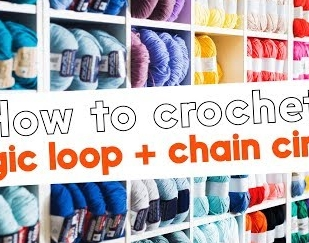 How to Crochet: magic loop and chain circles, with Rowan Yarns and Purplelinda Crafts