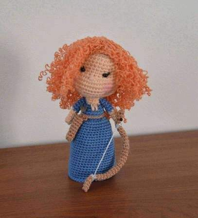 One Piece Doll (With images) | Crochet toys patterns, Crochet doll ... | 448x407