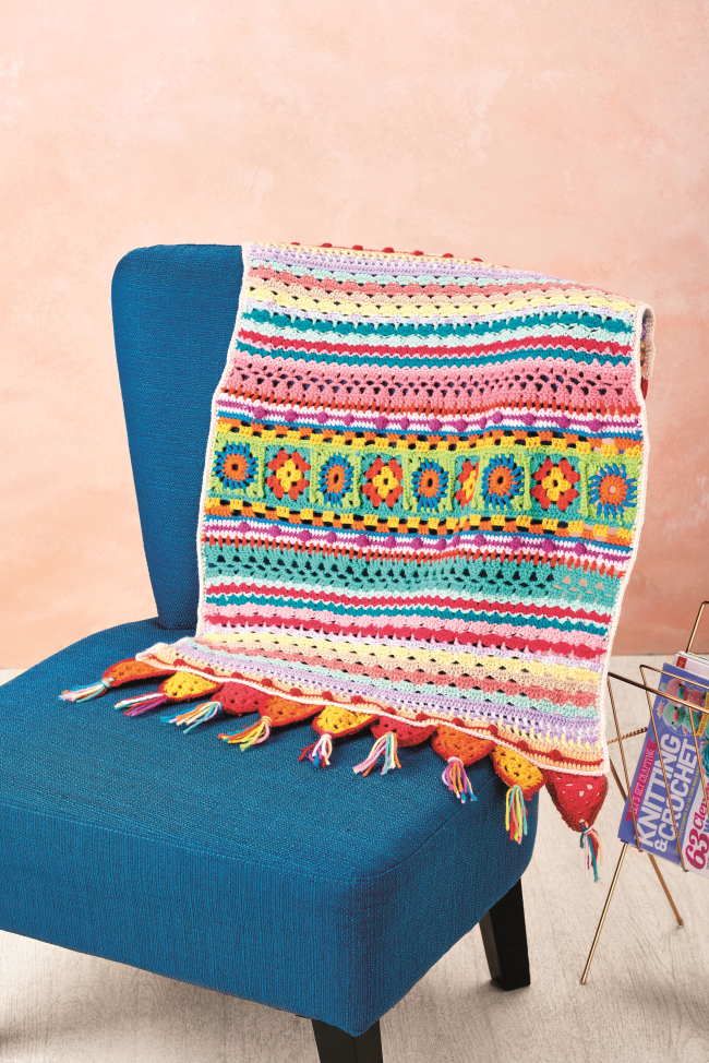 The Best Blanket Crochet-Along EVER!
