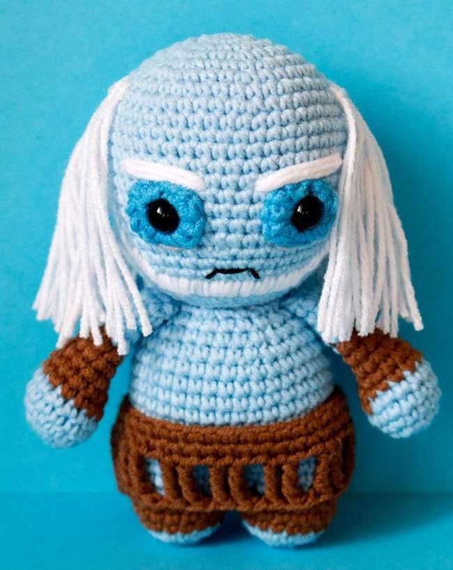 Jon Snow #gameofthrones #jonsnow #amigurumi #crochet | Crochet ... | 819x650