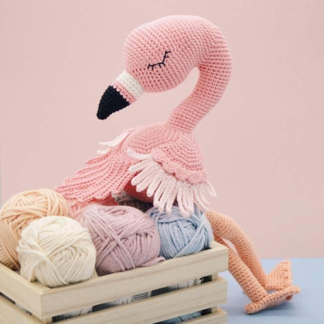Baby flamingo amigurumi pattern - Amigurumi Today   649x650