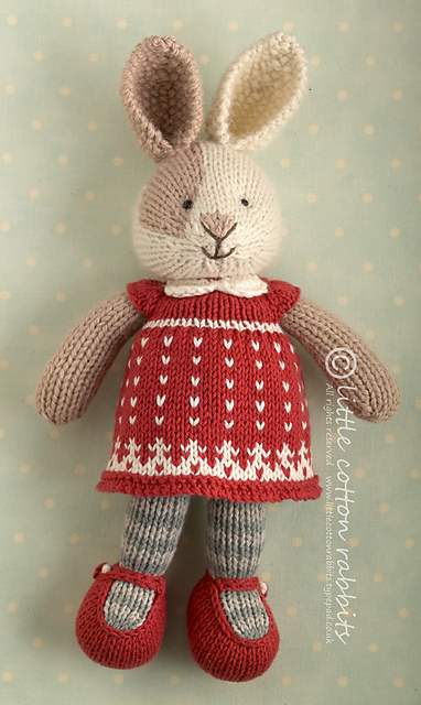 Knitted animal doll - zoomsoul | 640x382