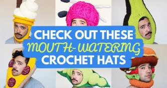 Check Out These Mouth-Watering Crochet Hats