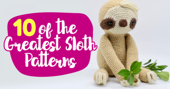 10 of the greatest sloth patterns