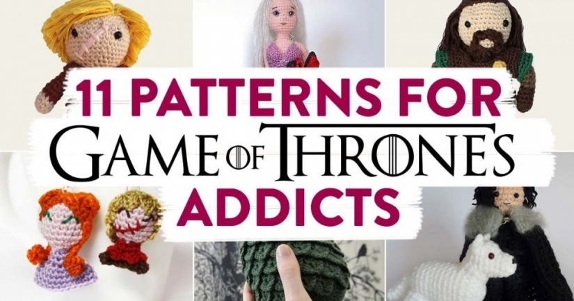 Free Crochet Pattern Game Of Thrones : 11 Patterns for Game of Thrones Addicts Top Crochet ...