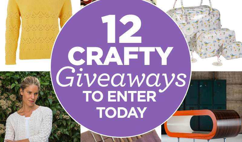 12 Crafty Giveaways To Enter Today