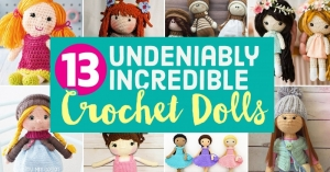 13 Undeniably Incredible Crochet Dolls