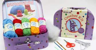 Buttonbag Crochet Kit to win!