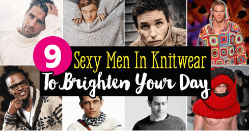 9 Sexy Men In Knitwear To Brighten Your Day