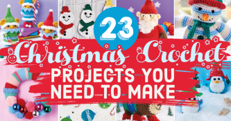 23 Christmas Crochet Projects You Need To Make