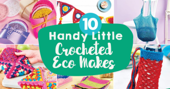 10 Handy Little Crocheted Eco Makes