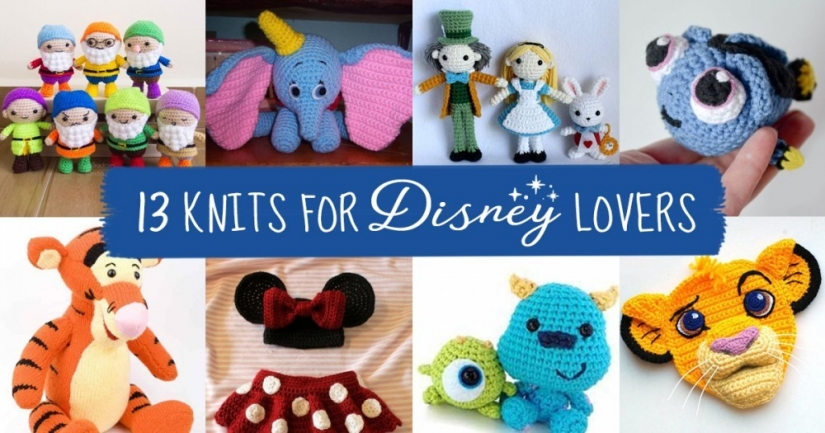 13 Knits for Disney Lovers