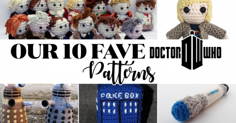 10 Doctor Who Patterns to Crochet While Watching the New Year Special