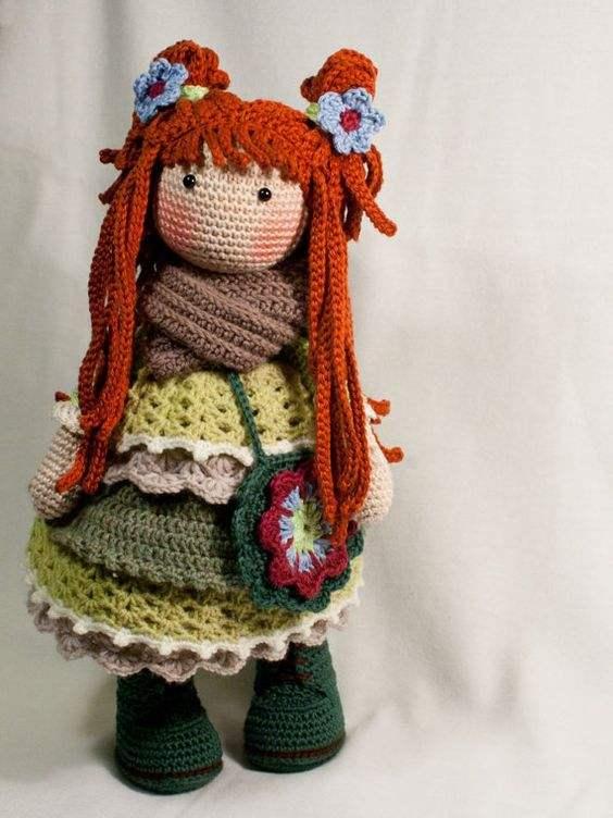 Ravelry: Kallie Amigurumi Doll pattern by Jeslyn Sim | 752x564