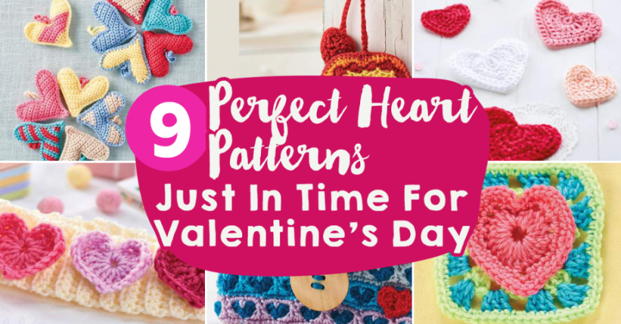 9 Perfect Heart Patterns Just In Time For Valentine's Day