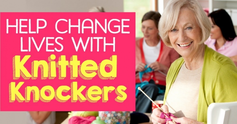 Help Change Lives With Knitted Knockers