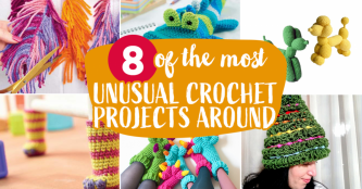8 of the Most Unusual Crochet Projects Around