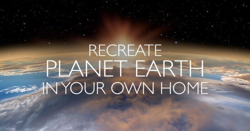 Recreate Planet Earth In Your Own Home