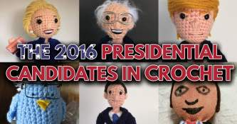 The 2016 Presidential Candidates in Crochet