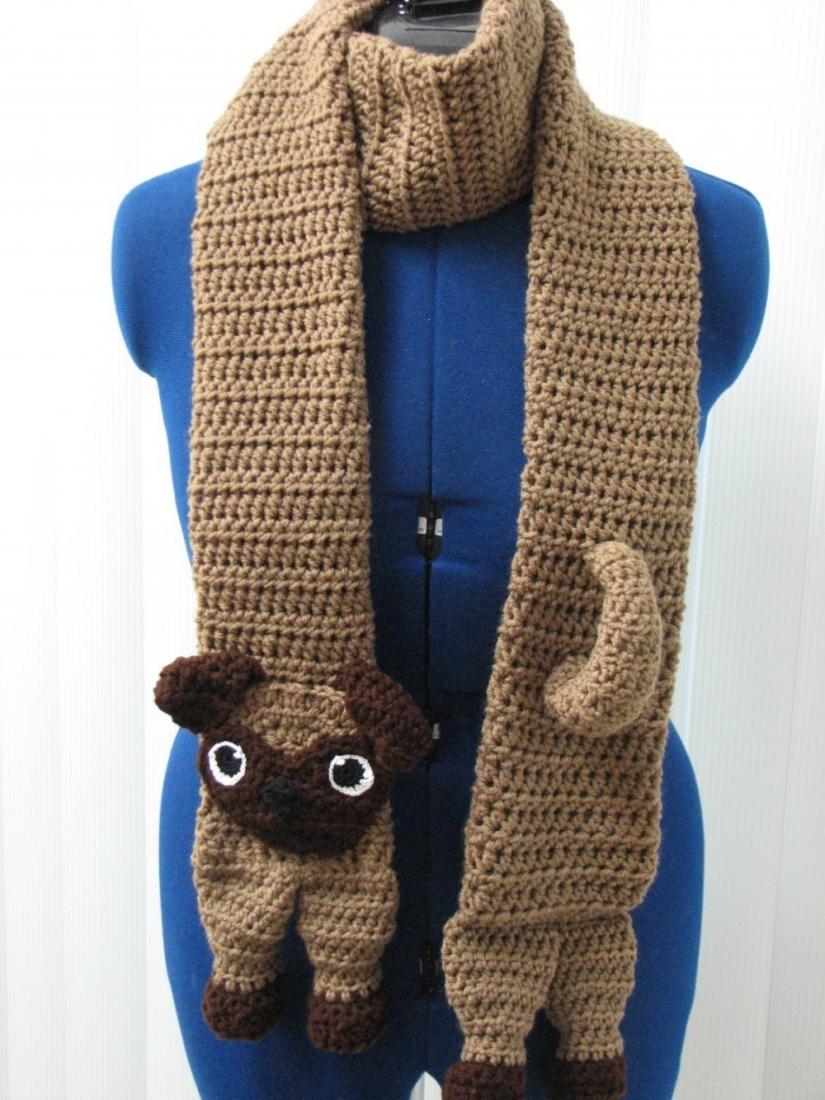 Pug Balaclava Knitting Pattern : 11 Patterns For People Who Love Pugs Top Crochet Pattern ...