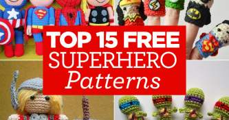 Top 15 FREE Superhero Patterns