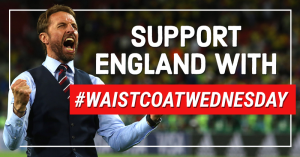 Support England With #WaistcoatWednesday